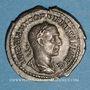 Monnaies Gordien I d'Afrique (238). Denier. Rome, 238. R/: la Sécurité assise à gauche, tenant un sceptre