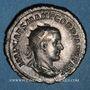 Monnaies Gordien III le Pieux (238-244). Antoninien. Rome, 238-239. R/: Victoire marchant à gauche