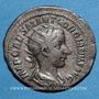 Monnaies Gordien III le Pieux (238-244). Antoninien. Rome, 239. R/: Rome assise