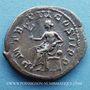 Monnaies Gordien III le Pieux (238-244). Denier. Rome, 241. R/: Apollon à demi-nu assis à g.