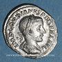 Monnaies Gordien III le Pieux (238-244). Denier. Rome, 241. R/: Gordien en habit militaire