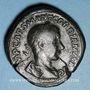 Monnaies Gordien III le Pieux (238-244). Sesterce. Rome, 239. R/: la Liberté debout à gauche