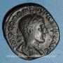 Monnaies Gordien III le Pieux (238-244). Sesterce. Rome, 240. R/: Gordien assis