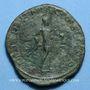Monnaies Gordien III le Pieux (238-244). Sesterce. Rome, 241-242. R/: Gordien en habit militaire