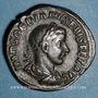 Monnaies Gordien III le Pieux (238-244). Sesterce. Rome, 241-243. R/: Jupiter debout de face