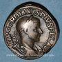 Monnaies Gordien III le Pieux (238-244). Sesterce. Rome, 241-243. R/: le Soleil radié debout à gauche