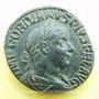 Monnaies Gordien III le Pieux (238-244). Sesterce. Rome, 241-243. R/: le Soleil