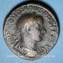 Monnaies Gordien III le Pieux (238-244). Sesterce. Rome, 241. R/: Apollon