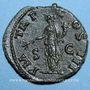Monnaies Hadrien (117-138). As. Rome, 121-122. R/: la Paix