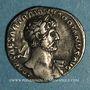 Monnaies Hadrien (117-138). Denier. Rome, 118. R/: la Fortune