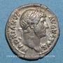 Monnaies Hadrien (117-138). Denier. Rome, 128. R/: astre sur un croissant
