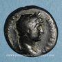 Monnaies Hadrien (117-138). Semis. Rome ou Antioche, 125-128. R/: lyre