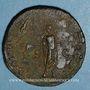Monnaies Hadrien (117-138). Sesterce. Rome, 119.  R/: Hadrien