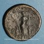 Monnaies Hadrien (117-138). Sesterce. Rome, 128. R/: l'Allégresse debout à gauche