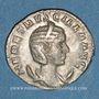 Monnaies Hérennia Etruscille, épouse de Trajan Dèce. Antoninien. Rome, 250-251. R/: la Fécondité