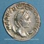 Monnaies Hérennia Etruscille, épouse de Trajan Dèce. Antoninien. Rome, 250-251. R/: la Pudeur