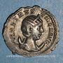 Monnaies Hérennia Etruscille, épouse de Trajan Dèce. Antoninien. Rome, 250. R/: la Pudeur