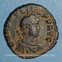 Monnaies Honorius (393-423). Maiorina. Antioche, 2e officine. 393-395. R/: Honorius