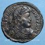 Monnaies Jovien (363-364). Double maiorina. Thessalonique, 1ère officine. R/: l'empereur debout. R !