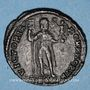 Monnaies Jovien (363-364). Double maiorina. Thessalonique, 4e officine, 363-364. R/: l'Empereur
