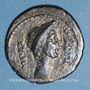 Monnaies Jules César (+ 44 av. J-C). Denier. Emission posthume. Rome, 44 av. J-C