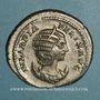 Monnaies Julia Domna, épouse de Septime Sévère († 217). Antoninien. Rome, 215. R/: la Lune