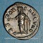 Monnaies Julia Domna, épouse de Septime Sévère († 217). Denier. Rome, 197. R/: Vesta