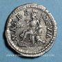 Monnaies Julia Domna, épouse de Septime Sévère († 217). Denier. Rome, 198. R/: Cybèle tourelée