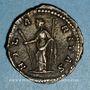 Monnaies Julia Domna, épouse de Septime Sévère († 217). Denier. Rome, 202. R/: l'Allégresse