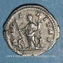 Monnaies Julia Domna, épouse de Septime Sévère († 217). Denier. Rome, 208. R/: la Joie