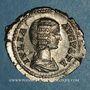 Monnaies Julia Domna, épouse de Septime Sévère († 217). Denier. Rome, 209. R/: Junon