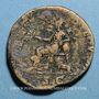 Monnaies Julia Domna, épouse de Septime Sévère († 217). Sesterce. Rome, 198. R/: Cybèle