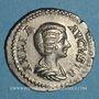 Monnaies Julia Domna, épouse de Septime Sévère († 217). Sesterce. Rome, 204. R/: la Piété