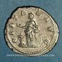 Monnaies Julia Maésa, grand-mère d'Elagabale († 226). Antoninien. Rome, 218-219. R/: la Piété