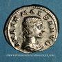 Monnaies Julia Maésa, grand-mère d'Elagabale († 226). Denier. Rome, 218-220. R/: la Piété