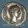 Monnaies Julia Mamée, mère d'Alexandre Sévère († 235). Denier. Rome, 226. R/: Vesta voilée debout à g.