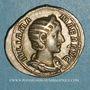 Monnaies Julia Mamée, mère d'Alexandre Sévère († 235). Denier. Rome, 228. R/: la Félicité