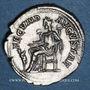 Monnaies Julia Mamée, mère d'Alexandre Sévère († 235). Denier. Rome, 232. R/: la Fécondité assise à g.