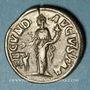 Monnaies Julia Mamée, mère d'Alexandre Sévère († 235). Denier. Rome, 232. R/: la Fécondité debout