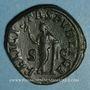 Monnaies Julia Mamée, mère d'Alexandre Sévère († 235). Sesterce. Rome, 228. R/: la Félicité
