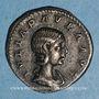 Monnaies Julia Paula, 1ère épouse d'Elagabale. Denier. Rome, 220. R/: la Concorde