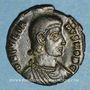 Monnaies Julien II césar (355-61). Maiorina réduite. Smirnium, 2e officine. 355-61. R/: l'empereur