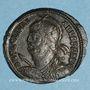 Monnaies Julien II le philosophe (360-363). Centénionalis. Héraclée, 1ère officine, 362-63. R/: couronne