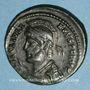 Monnaies Julien II le philosophe (360-363). Centénionalis. Sirmium 2e officine, 362-363. R/: couronne