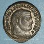 Monnaies Licinius I (308-324). Follis. Nicomédie. 2e officine, 313-317. R/: Jupiter