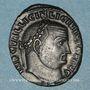 Monnaies Licinius I (308-324). Follis. Nicomédie, 7e officine, 313-317. R/: Jupiter debout à gauche