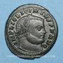 Monnaies Licinius I (308-324). Follis. Siscia. 4e officine, 313-315. R/: Jupiter