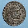 Monnaies Licinius I (308-324). Follis. Thessalonique. 1ère officine, 312. R/: Jupiter