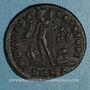 Monnaies Licinius II, césar (317-324). Follis. Cyzique. 4e officine. 318-324. R/: Jupiter