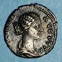 Monnaies Lucille, épouse de Lucius Vérus (+183). Denier. Rome, 166-169. R/: Junon